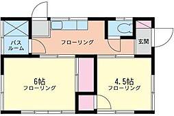 [一戸建] 神奈川県大和市上草柳6丁目 の賃貸【/】の間取り