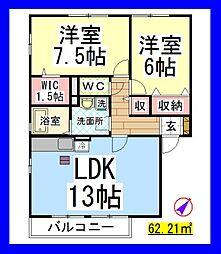 南林間駅 7.2万円