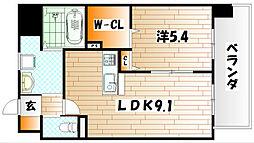 渡邊ビルII[7階]の間取り