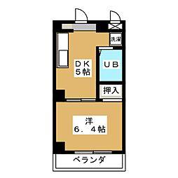 Forest Fujisatocho[2階]の間取り