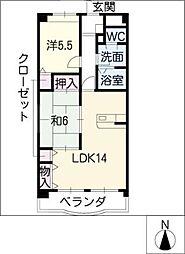 Popolare MY[5階]の間取り