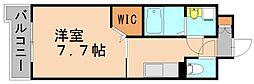 比恵西CoCoマンション[6階]の間取り