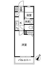 シーズ・レフィネ16[3階]の間取り