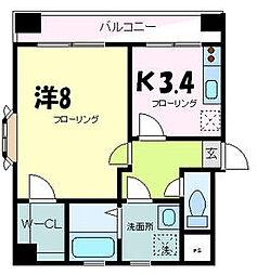 五番館[11階]の間取り