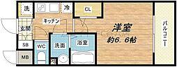 エスプレイス大阪城SOUTH[2階]の間取り