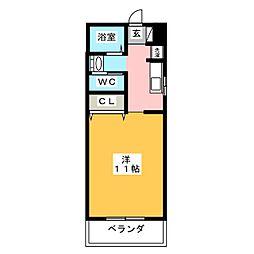 Gru[3階]の間取り