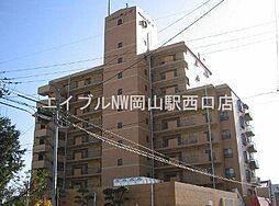 岡山県岡山市北区野田1丁目の賃貸マンションの外観