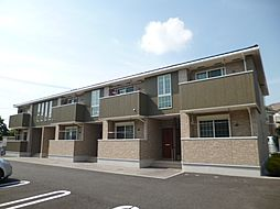 東京都武蔵村山市岸1丁目の賃貸アパートの外観