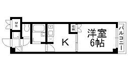 Fromホキタ1番館[0303号室]の間取り