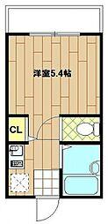 トミーハウス東寺尾[1階]の間取り