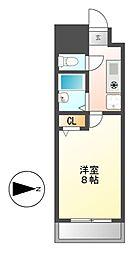 PLEASANT(プレザント)[3階]の間取り