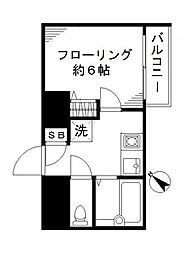 スカイコート新宿落合第6[2階]の間取り