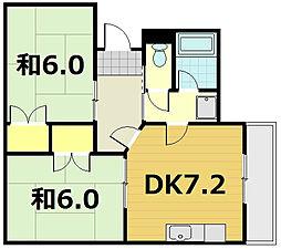 ハウスS&Y[3階]の間取り