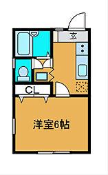 今井ハイツ[2階]の間取り