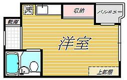 落合ミュージックハイム[2階]の間取り
