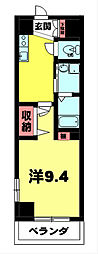 KDXレジデンス南草津[3階]の間取り