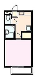 サンガーデンイママンA[2階]の間取り