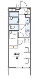 中野木LA1[1階]の間取り
