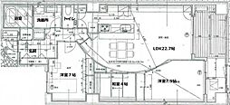 リモージュ徳川[1F号室]の間取り