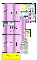 アニメートIII[1階]の間取り