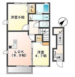 MO-V[2階]の間取り