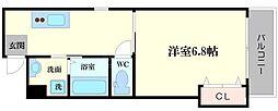 大阪府守口市梅園町の賃貸アパートの間取り
