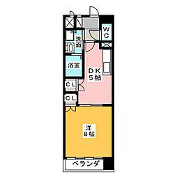 メゾン本山[2階]の間取り