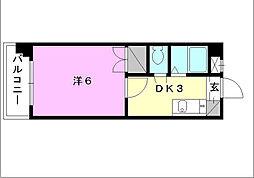 メゾン・ド・リセ[201 号室号室]の間取り