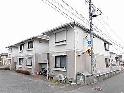 東京都昭島市中神町2丁目の賃貸アパートの外観