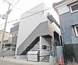京都府京都市伏見区奈良屋町の賃貸アパートの外観
