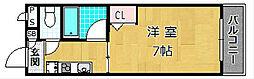 シャトレー御殿山[1階]の間取り