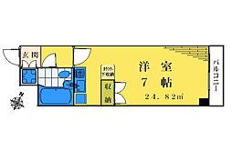 CROSS高田馬場[211号室]の間取り