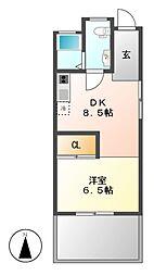 Reno Base motoyama(リノベース モトヤマ)[1階]の間取り