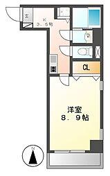 NORITAKE21[6階]の間取り