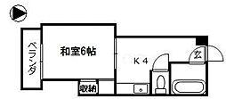第8佐野ビル[4階]の間取り
