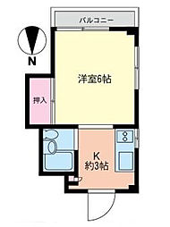 コスモAoi湘南II[5階]の間取り