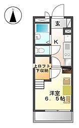 OMレジデンス上飯田[3階]の間取り