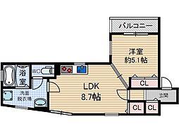 KTIレジデンス総持寺[3階]の間取り