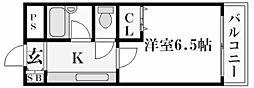 ステラハウス23[1階]の間取り