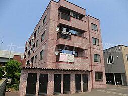 北海道札幌市東区北三十三条東6丁目の賃貸マンションの外観