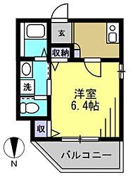 仮)矢口1丁目アパート[101kk号室]の間取り