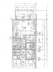 福岡市地下鉄箱崎線 呉服町駅 徒歩13分の賃貸マンション 13階1Kの間取り