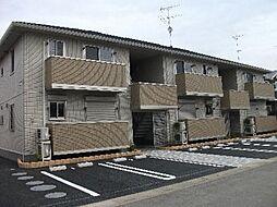 埼玉県羽生市南羽生3丁目の賃貸アパートの外観