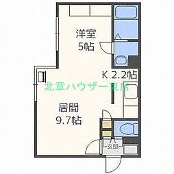 Comfort City[4階]の間取り