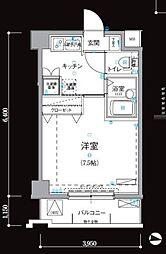 リヴシティ新宿弐番館[5階]の間取り