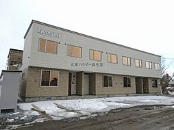 [テラスハウス] 北海道札幌市北区新川西三条3丁目 の賃貸【/】の外観