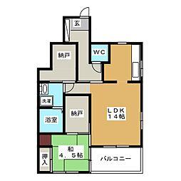 [一戸建] 静岡県静岡市清水区村松原2丁目 の賃貸【/】の間取り