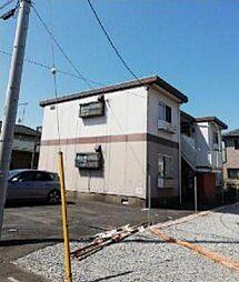 埼玉県桶川市大字上日出谷の賃貸アパートの外観