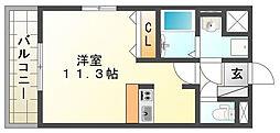 THマンション[302号室]の間取り
