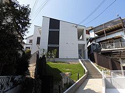 兵庫県神戸市須磨区板宿町3丁目の賃貸アパートの外観